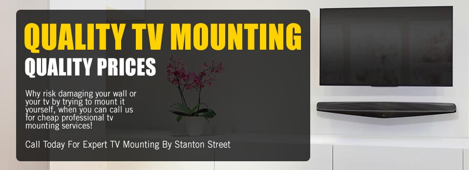 local tv mounting service mounts any flat screen tv