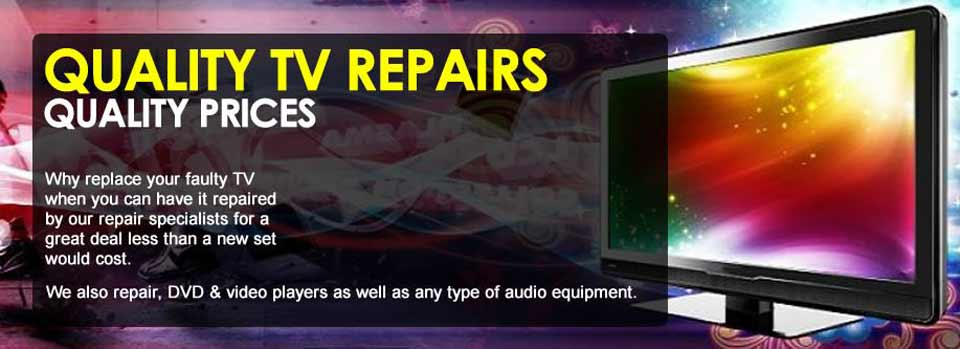 local tv repair shop fixes any tv problem